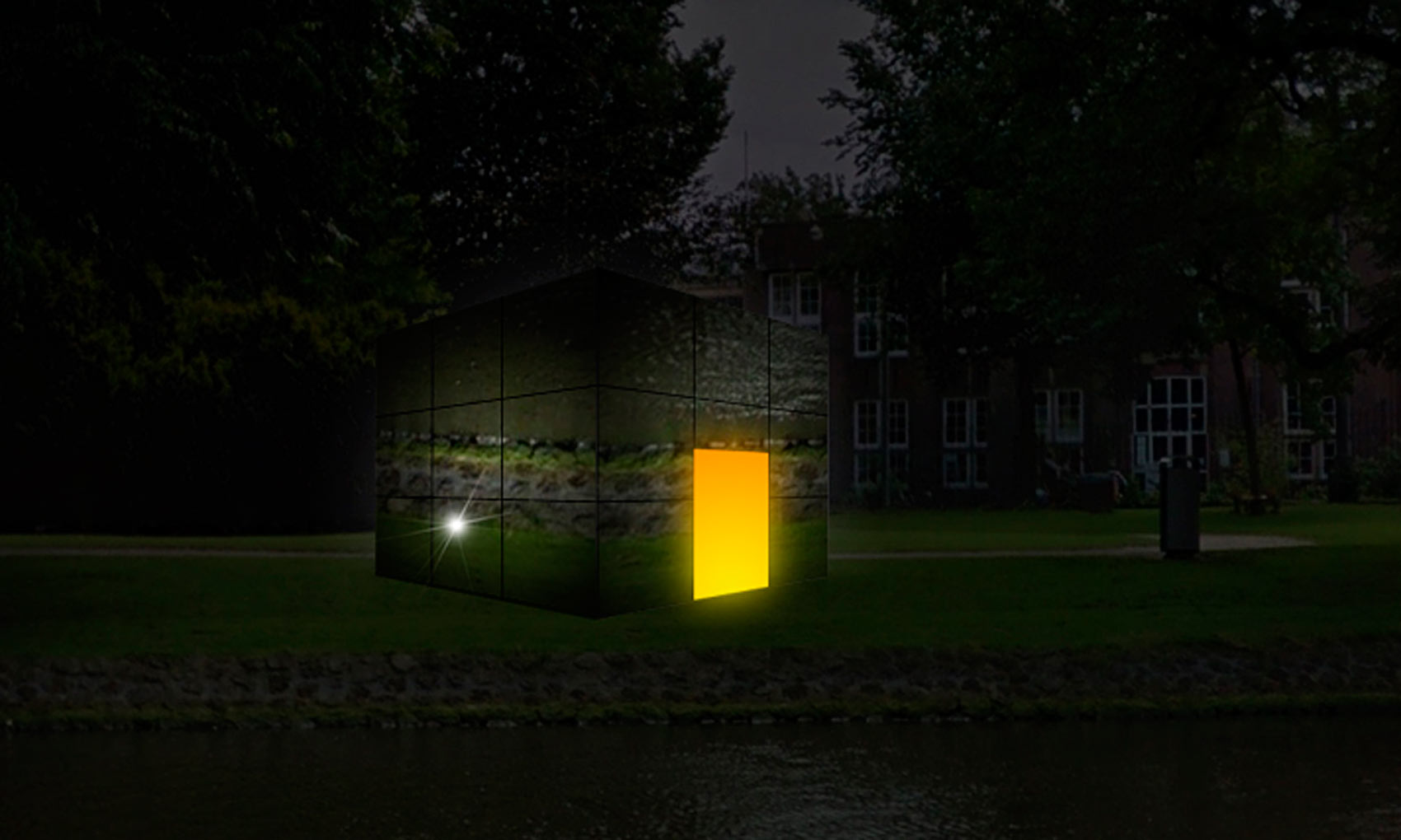 Mirror Box - Concept Amsterdam Light Festival